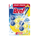 Odorizant Bref Power Active Lemon duo, 2 x 50 g
