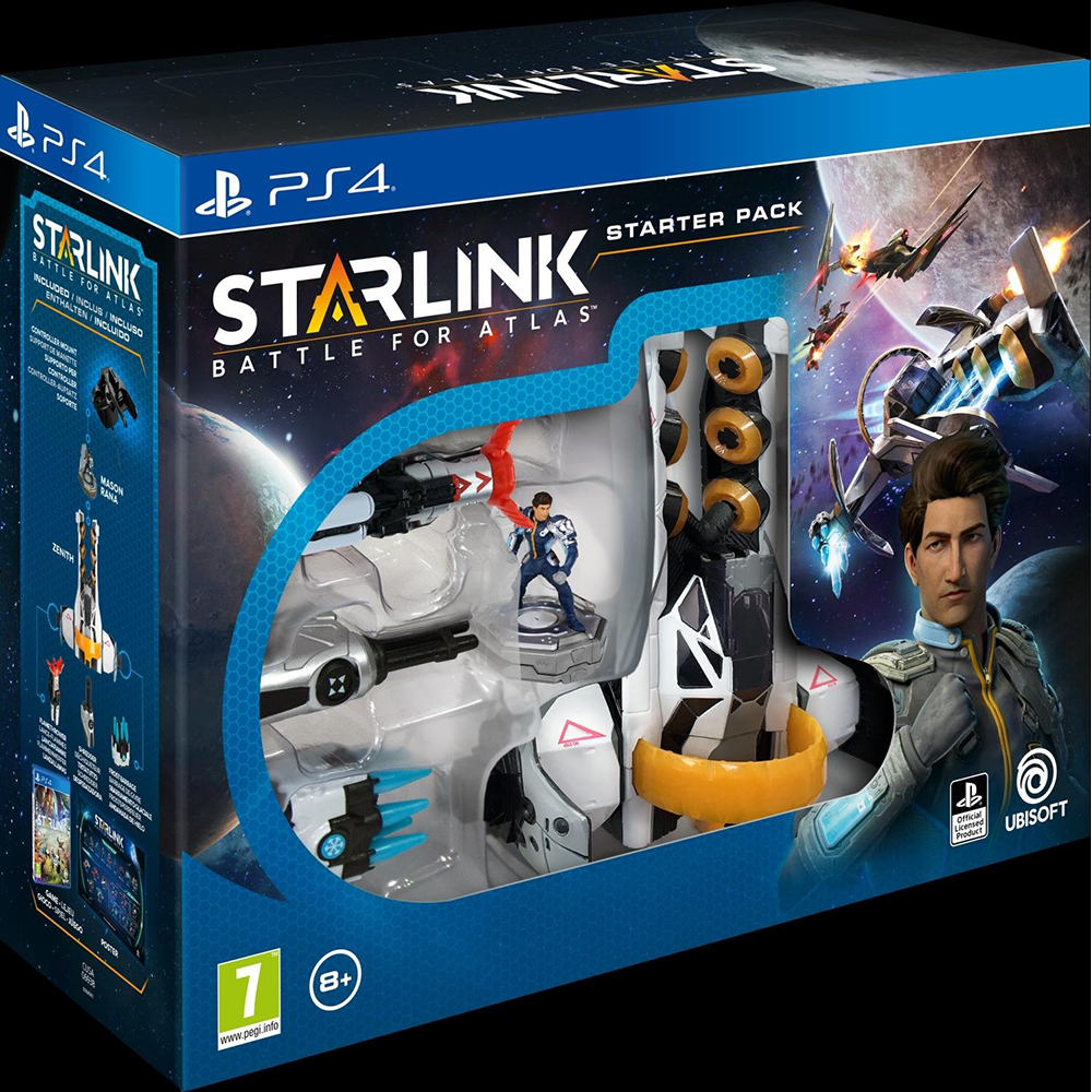 Pachet starter Starlink Battle For Atlas pentru Playstation 4
