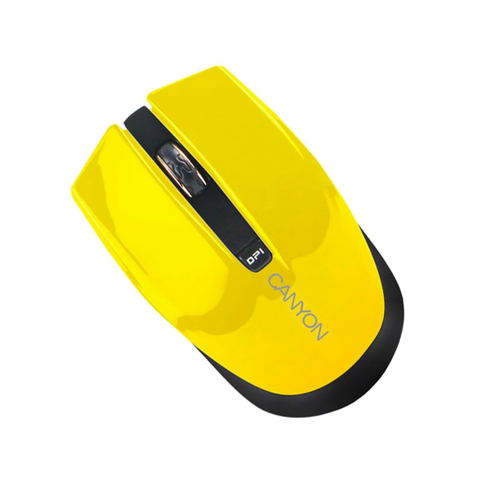 Mouse wireless Optic Canyon CNS-CMSW5Y galben