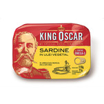 Sardine baltice in ulei King Oscar 110g
