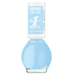 Lac de unghii Miss Sporty Clubbing Color, 305 Fluffy Blue, 7 ml