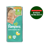 Pampers Active Baby gp numarul 6 xxl 56 bucati