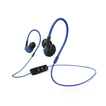 Hama Clip-On Active negru albastru, casti sport bluetooth in ear cu microfon pe fir