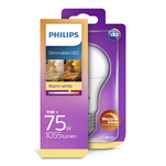 Bec LED Philips 75W A60 E27 WW FR WGD RF 1BC/6