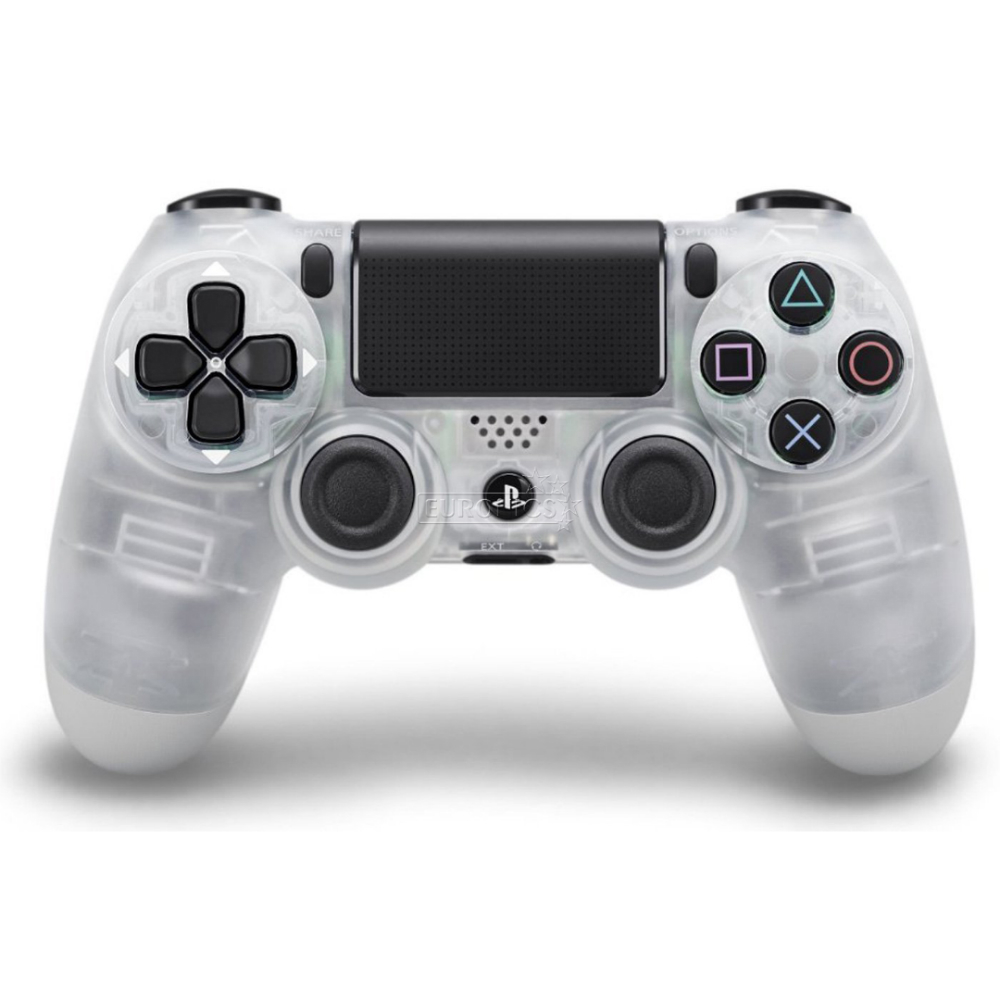 Controller wireless Sony Dualshock 4 Crystal pentru Playstation
