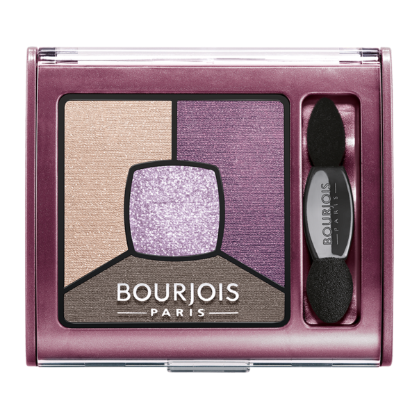 Paleta de farduri de pleoape Bourjois Smoky Stories 15 Pretty Plum, 3.2 g