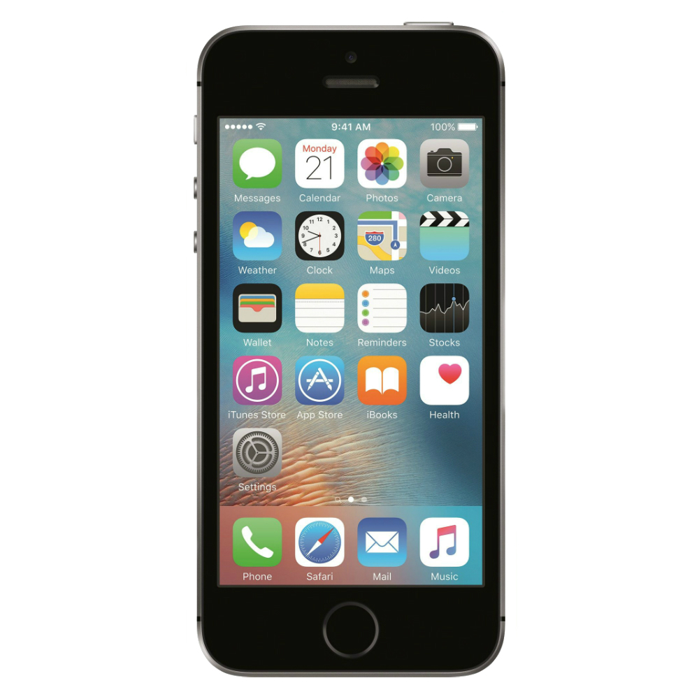 Telefon Apple iPhone SE cenusiu 4G cu memorie de 64GB
