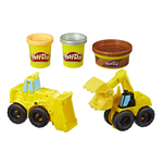 Set Play-Doh Wheels Excavator