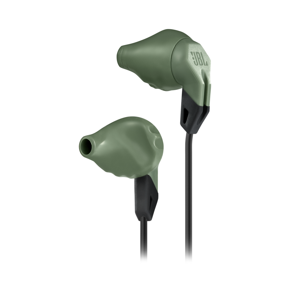 Casti cu fir si microfon JBL GRIP200 In ear Olive