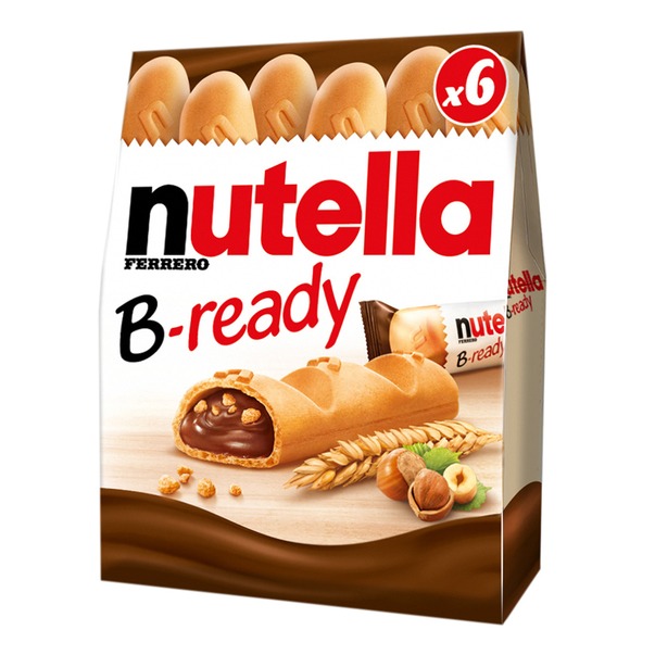 Nutella B-Ready, 6 x 22 g