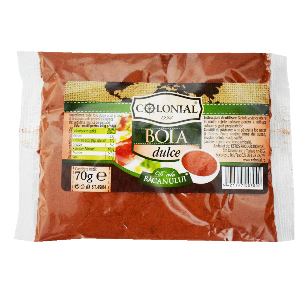 Boia dulce Colonial 70g