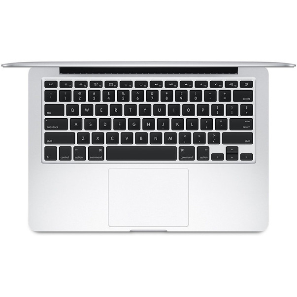 Laptop MacBook Pro MF839ZE Apple argintiu cu ecran retina de 13 inch si SSD 128GB