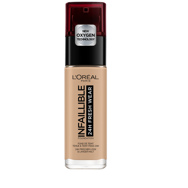 L'Oreal Paris Infaillible 24H Fresh Wear Fond de ten rezistent la transfer 235 Honey - 30 ml