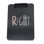 Clipboard Auchan din plastic, A4 right design