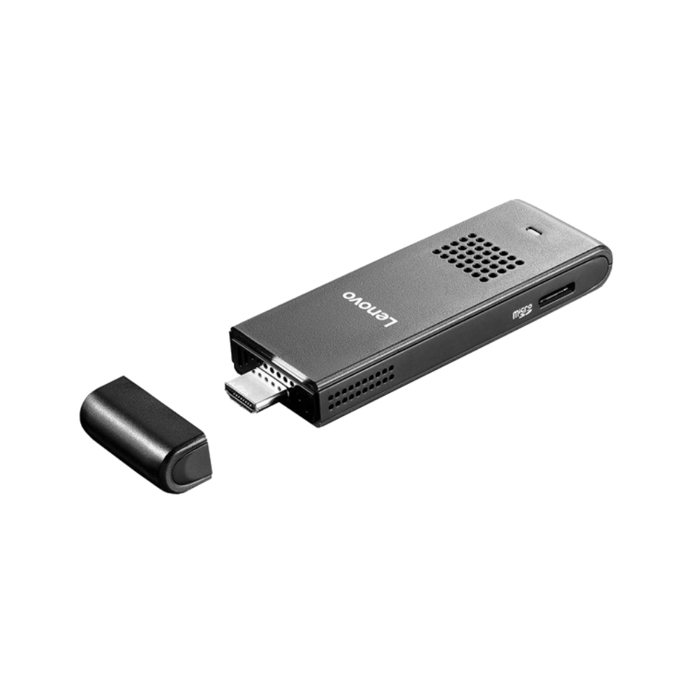 Sistem IT Lenovo IdeaCentre Stick 300 cu procesor Intel Atom Z3735F pana la 1.83GHz si 2GB RAM