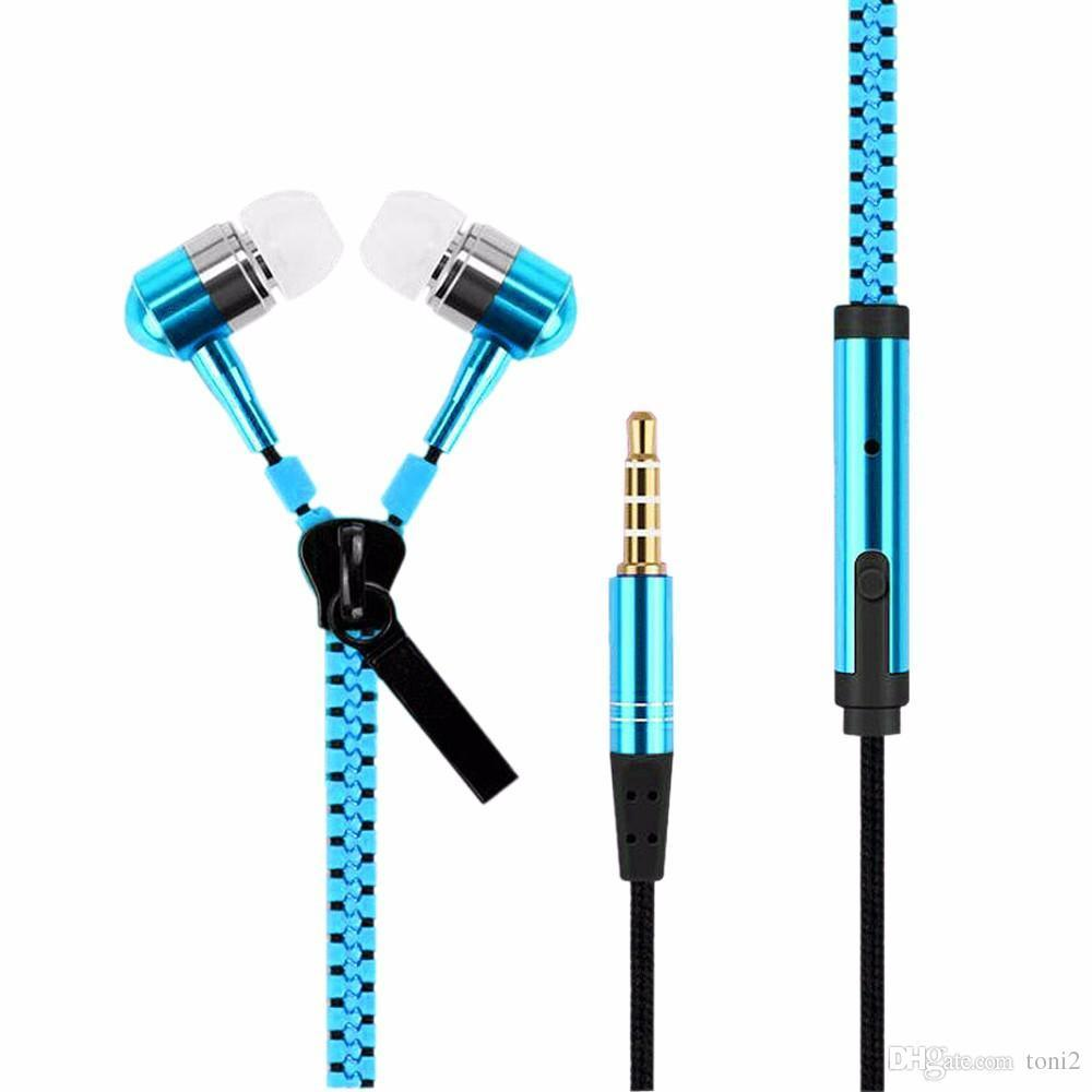 Casti in-ear cu microfon Soundvox Zipper