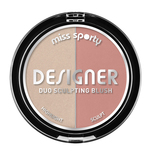 Fard de obraz Miss Sporty Draping Blush, 100 Peachy, 9 g