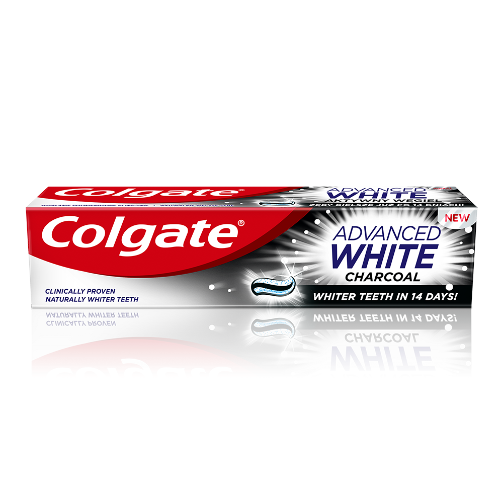 Pasta de dinti Colgate Advanced White Charcoal 100ml