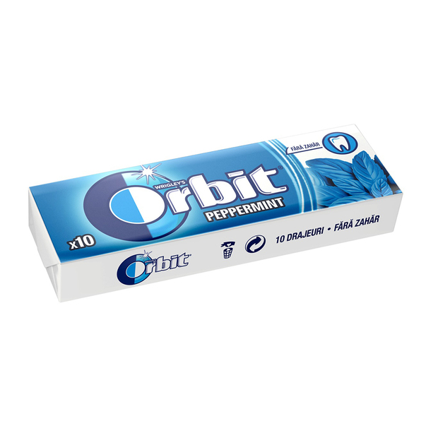 Orbit Peppermint Pellets 14 g