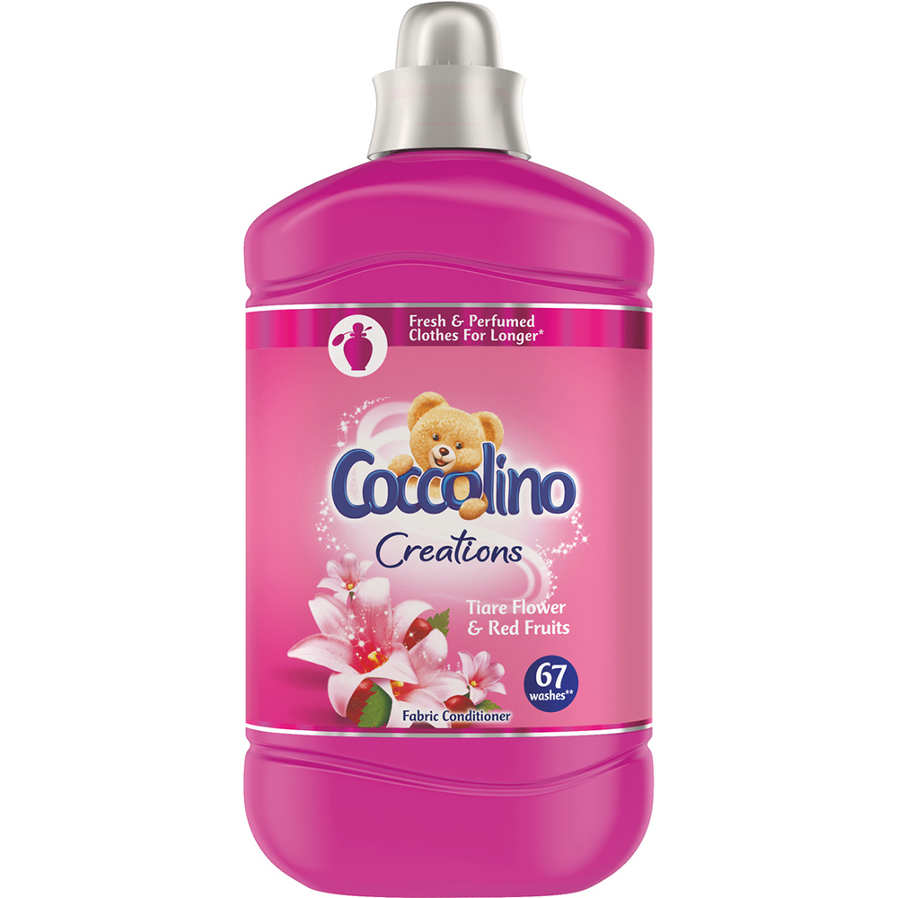 Balsam de rufe Coccolino Creations Tiare Flower & Red Fruits 1.68 l