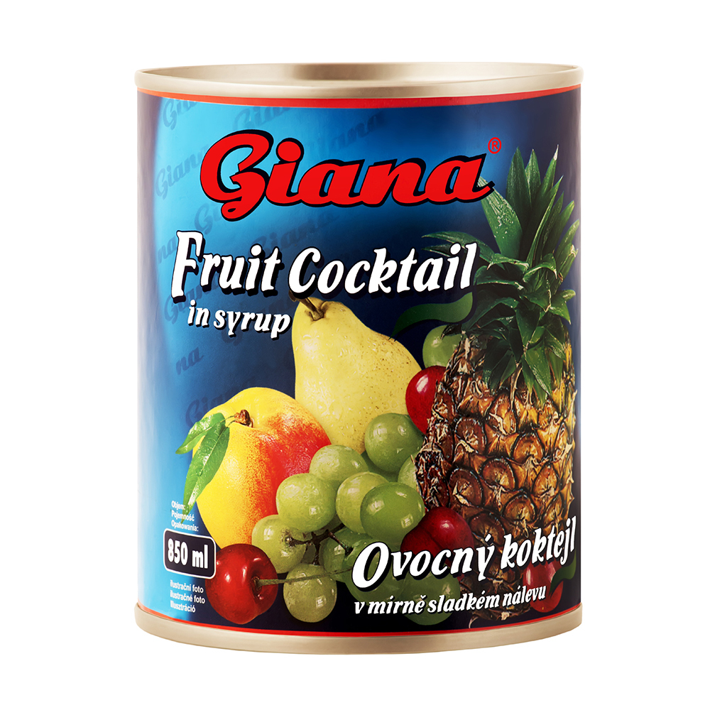 Cocktail de fructe european Giana 850 ml