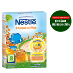 8 cereale Nestle cu miere 250g