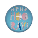 Magnet decorativ cu diametrul de 50 mm, h 28 mm hooray