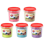 Nisip magic One Two Fun 1 Kg, diverse culori
