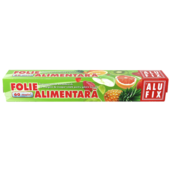 Folie stretch alimentara Alufix 60 m