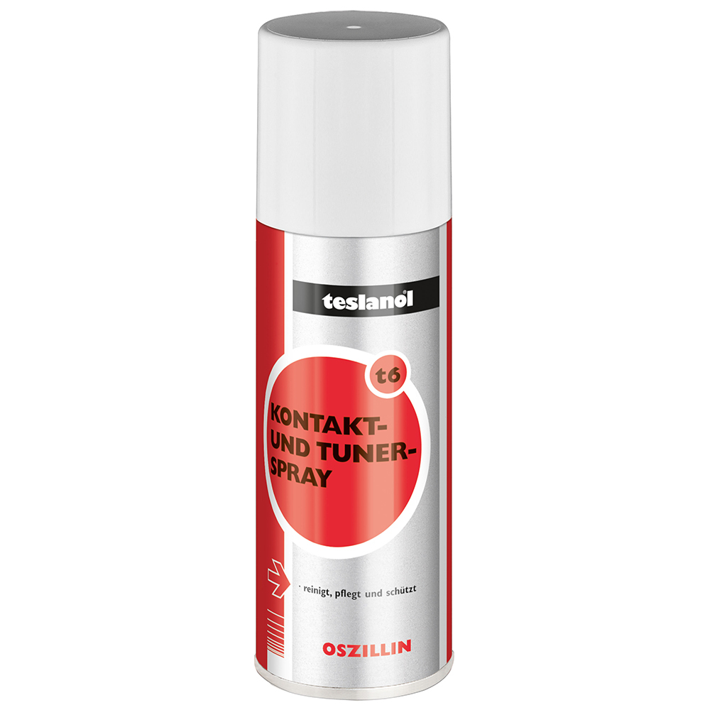 Spray Teslanor pentru contacte electrice si tuner 200 ml