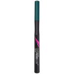 Liner tip carioca Maybelline New York Hyper Precise All Day Jungle Green, rezistent la apa, 6 ml