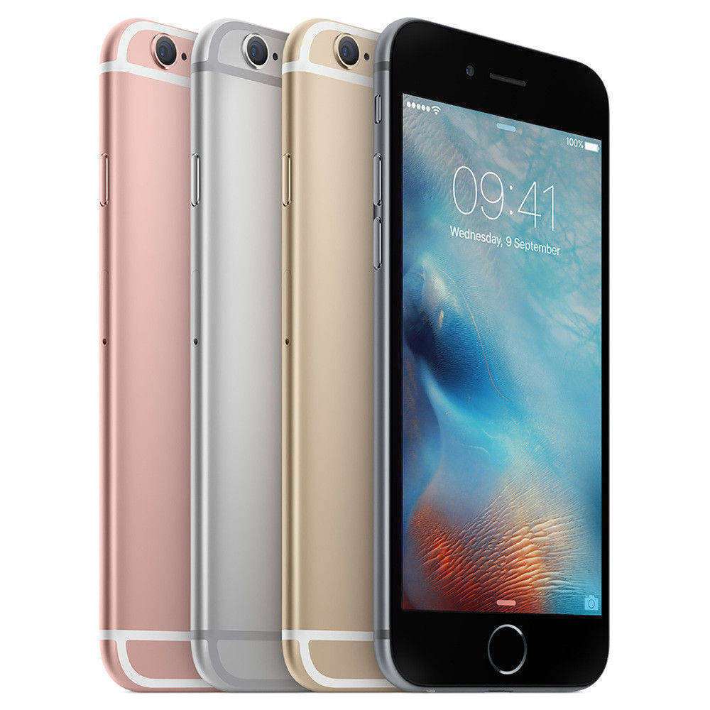 Telefon Apple iPhone 6s auriu 4G cu memorie de 128GB