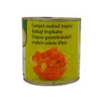 Cocktail Auchan din fructe tropicale 410 g