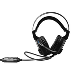 Casti PC over the ear Qilive Premium 896667 cu telecomanda pe fir si mufa USB