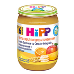 Hipp eco fructe si cereale integrale 190g