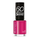Lac de unghii Rimmel London 60 Seconds Shine, 323 Funtime Fuchsia, 8 ml
