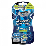 Aparat de ras Wilkinson Xtreme3 Ultimate Plus, 4 bucati