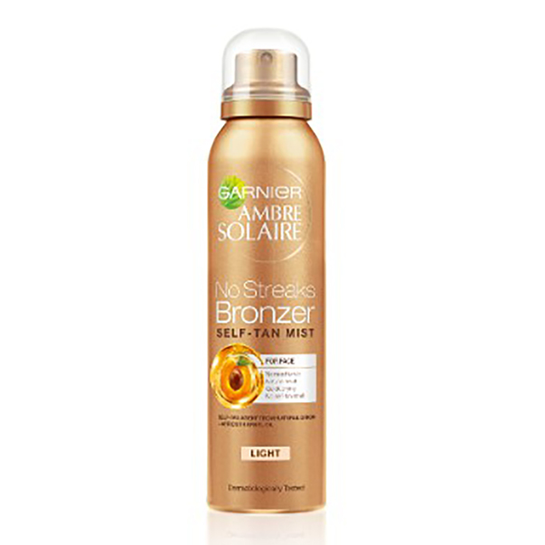 Spray autobronzant Garnier Ambre Solaire pentru ten - nuanta deschisa 75 ml