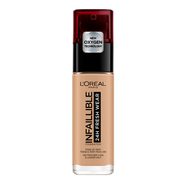 Fond de ten L'Oreal Paris Infaillible, 150 Radiant Beige, 30 ml