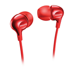 Casti in ear Philips Vibes SHE3700RD cu fir si difuzoare de 8.6mm