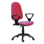 Scaun Eco Blue ergonomic, brate office bordo