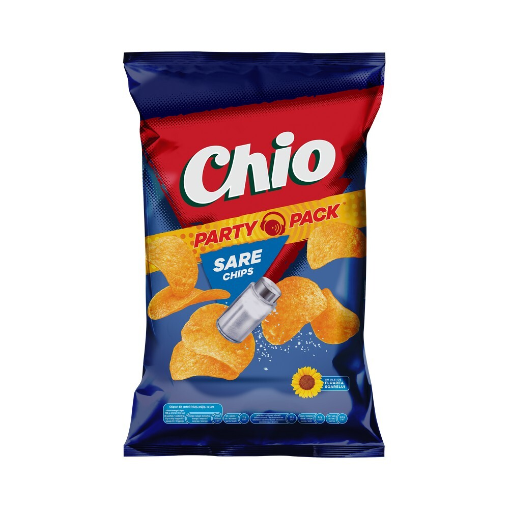Chio Chips cu sare, 255 g
