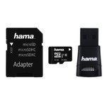 Set card de memorie microSDHC 32GB cu adaptor si cititor Hama