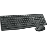 Set tastatura si mouse wireless Logitech MK235