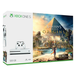 Pachet Consola Xbox One S 500GB si joc Assassin's Creed Origins