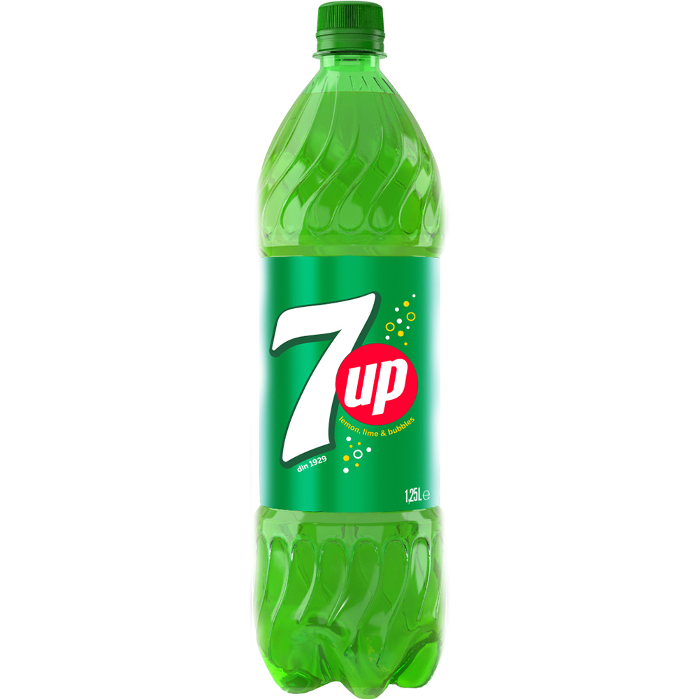 Bautura racoritoare 7 Up, 1.25 L