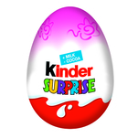 Ou de ciocolata Kinder Surprise roz 20 g