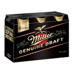 Bere blonda Miller Genuine Draft, 6 x 0.5 l