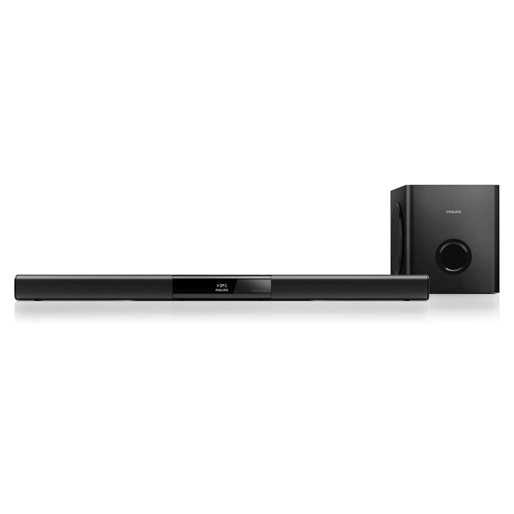 Boxa soundbar Philips HTL3110B cu subwoofer wireless