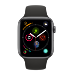 Smartwatch Apple Watch 4 sport gri cu GPS, 44mm